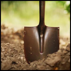 planting shovel circle